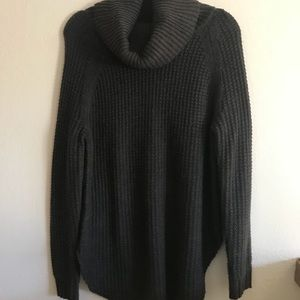 Sweaters - Gray Cowl Neck Sweater